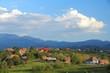 Romania countryside - Piatra Craiului mountains