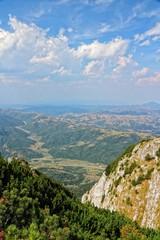Romania landscape - Piatra Craiului National Park