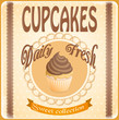 banner cupcakes