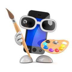 Artistic smartphone