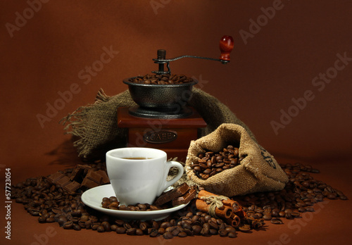 Fototapeten,tassen,kaffee,bohne,braun