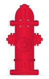 red hydrant illustration, urban equipment