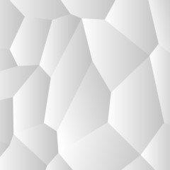 Background abstract white vector creative design. Cells pattern