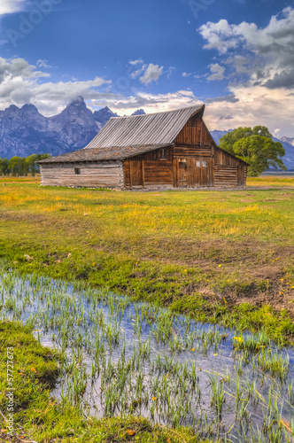 Mormon Row Grand Teton