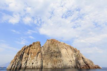 Aeolian islands in Italy