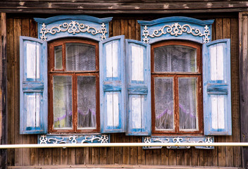 Typical russian house