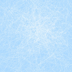Scratched Blue Ice - Vector Illustration