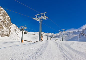 Mountain ski resort Hochgurgl Austria