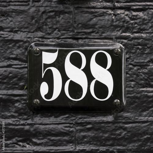 Number 588