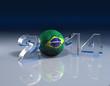 2014 Fussball Brasilien - Glas