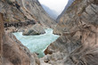 Tiger leaping gorge in China ( world's deepest gorge )