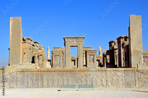 Tachara palace at Persepolis,Iran