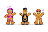 Gay gingerbread men