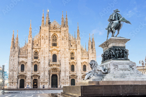 Milan cathedral Dome,Italy