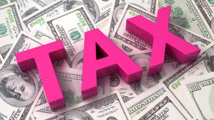 Taxation concept