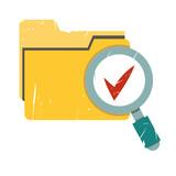 data verification, business report verification poster