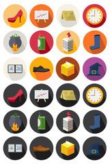 flat icons set 22