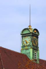 Uhrzeit, Turmuhr