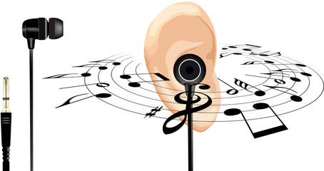 auricolare per stereo