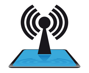 Modern net icon