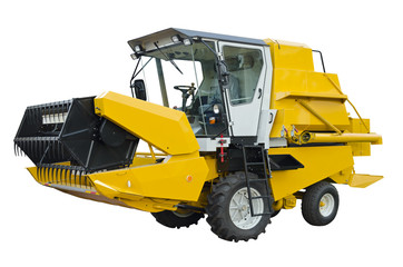 Small agricultural harvester