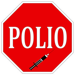 Stop Polio, help eradicate Poliomyelitis