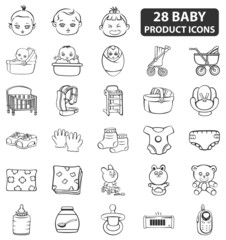 Baby Product Icons