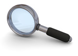 MAGNIFYING GLASS - 3D