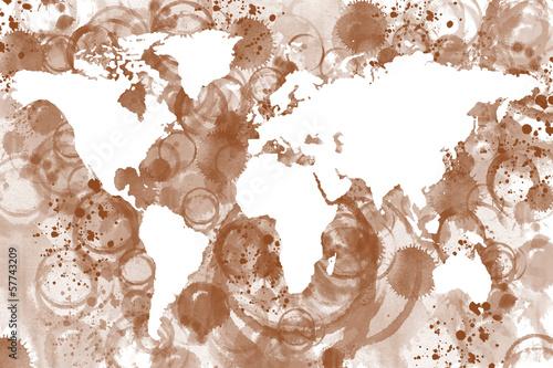 mapa-swiata-kawy
