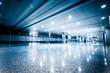 walkway of airport