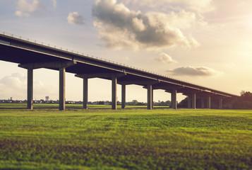 concrete road bridge
