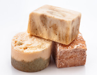 aromatic homemade soap pads