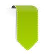 Schild Pfeil grün