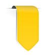 Schild Pfeil gelb