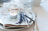Fototapety Provence style table setting