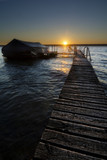 Sunrise on the Dock