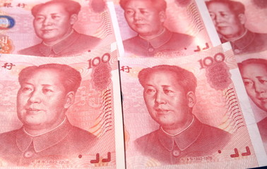 100 Renminbi currency