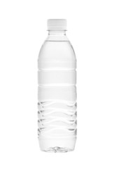 Water bottle (with clipping path) isolated on white background