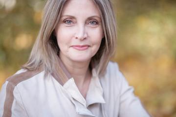 ältere Dame im Portrait