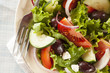 Homemade Organic Greek Salad