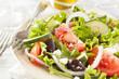 Homemade Organic Greek Salad