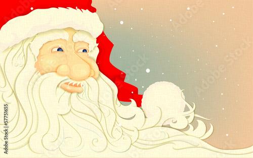 Retro Santa Claus