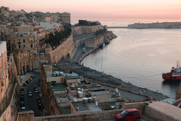 Valetta at sunrise