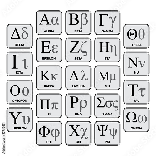 Greek Alphabet And Symbols Hand Made Chart Buy Photos Ap Images