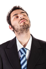 absent businessman