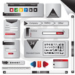 Website Elements Set - Vector illustration