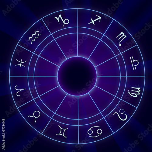 Zodiac Horoscope - Vector illustration