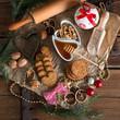 Christmas little places oatmeal
