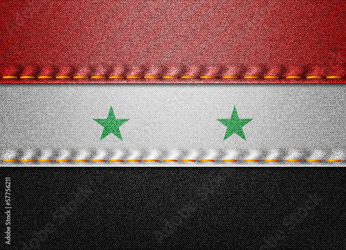 Denim Syria flag