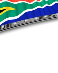 Designelement Flagge Südafrika